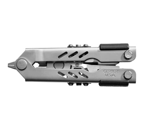 Gerber Compact Sport - Multi-Plier 400 Stainless W: Sheath - One-Hand Opening Multi-Tool