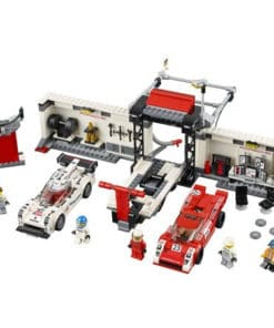 Lego Speed Champions Porsche 919 Hybrid and 917K Pit Lane