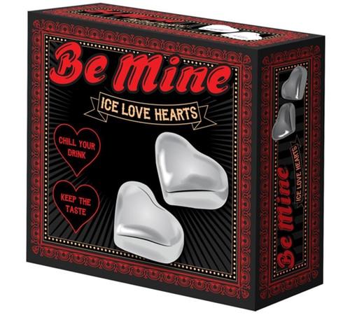 Be Mine Ice Love Hearts