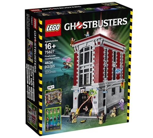 Lego Ghostbusters Firehouse Headquarters (758…