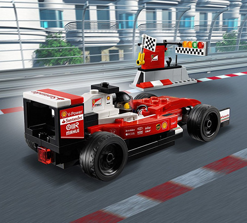 lego speed champions scuderia ferrari sf16 h yuppie gadgets. Black Bedroom Furniture Sets. Home Design Ideas