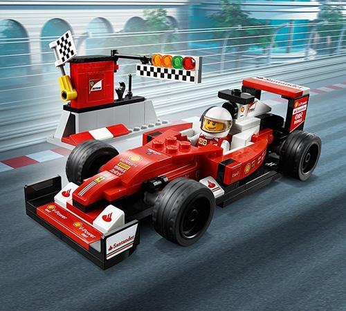 lego speed champions scuderia ferrari sf16 h 75879. Black Bedroom Furniture Sets. Home Design Ideas