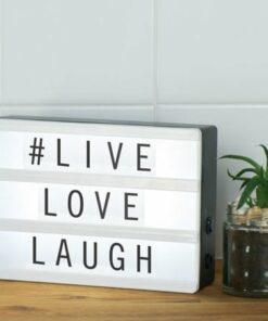 Mini Light Up Message Board