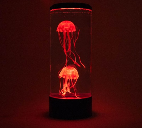 neon jellyfish lamp yuppie gadgets. Black Bedroom Furniture Sets. Home Design Ideas