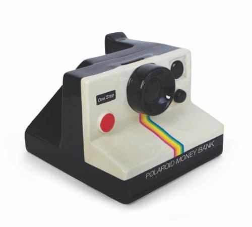 Polaroid Camera Money Box