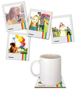 Polaroid Photo Coasters