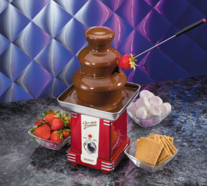Retro Square Chocolate Fountain