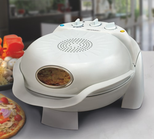 Rotating Bake Grill Stone Pizza Oven