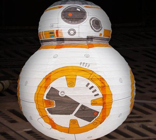 Star Wars BB8 Paper Shade
