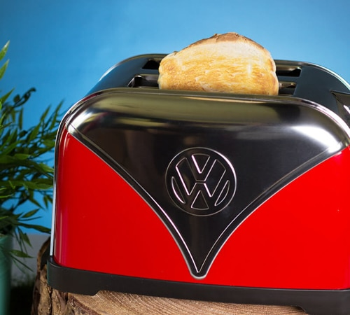 Volkswagen Campervan Toaster – Red