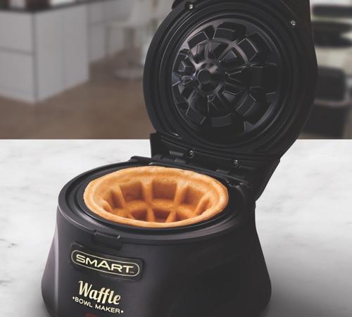 Waffle Bowl Maker – Black