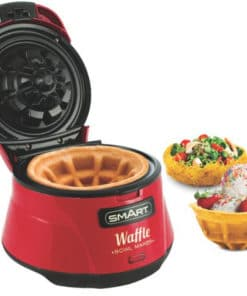 Waffle Bowl Maker - Red