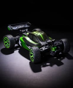 X Knight Green RC Car