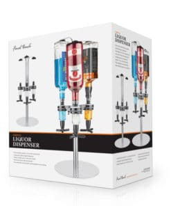 Bar Caddy 3 Bottle Liquor Dispenser