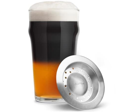 Black and Tan Beer Beer Layering Tool Set