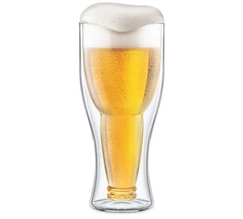 Bottoms Beer Glass