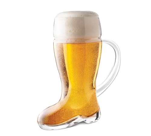 Das Beer Boot with Handle