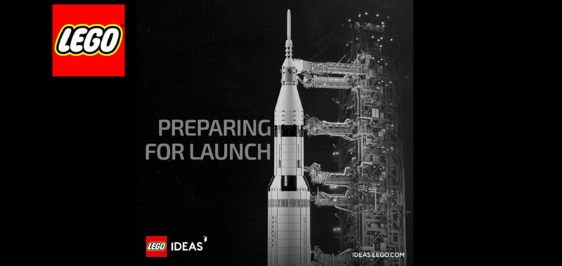 First official images of the LEGO Ideas NASA Apollo Saturn V