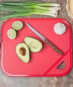 Non-slip Cutting Board - Red