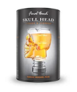 Skull Head Jigger and Stopper