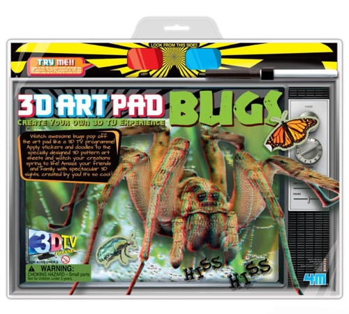 3D Bugs Art Pad Kit (3701)