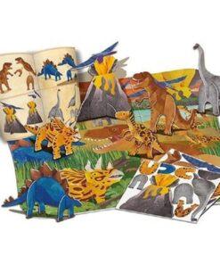 3D Dinosaurs Floor Puzzle Kit (4668)