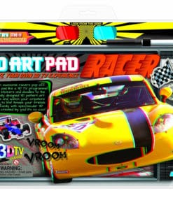 3D Racer Art Pad Kit (3702)