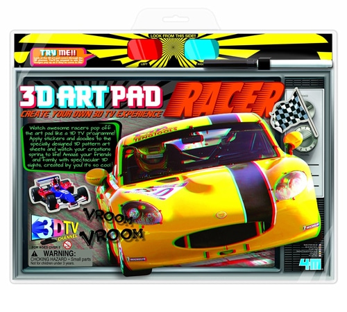 3D Racer Art Pad Kit (3702)