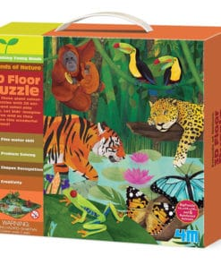 3D Rainforest Floor Puzzle (4678)