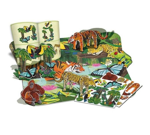 3D Rainforest Floor Puzzle (4678)