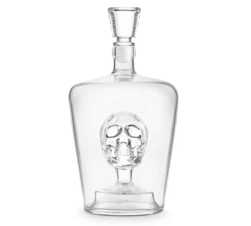 Brain Freeze Skull Decanter