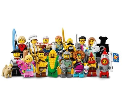 Lego Collectible Minifigures Series 17 71018 Yuppie