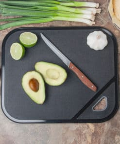 Non-slip Cutting Board – Black