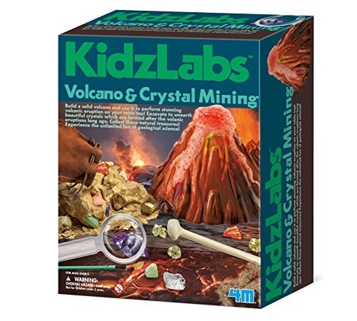 Volcano And Crystal Mining Kit