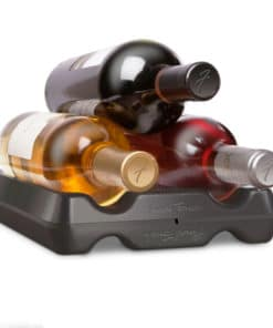Wine Bottle Stacker – Black