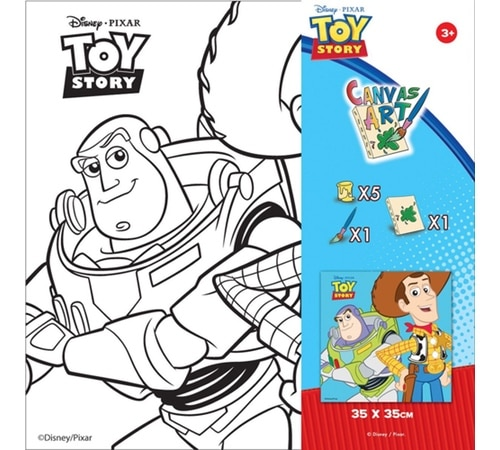 Disney Toy Story Paint Your Own Canvas Art an…