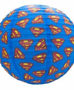 DC Comics Superman Paper Lampshade