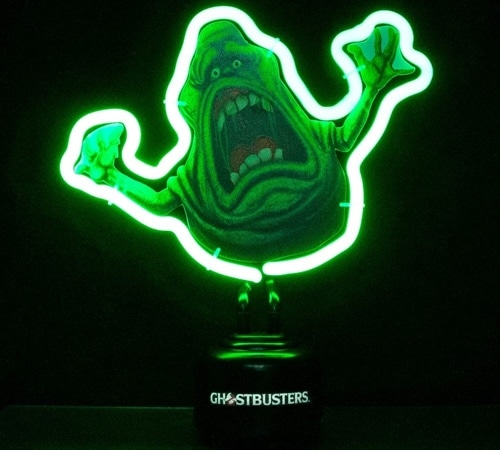 Ghostbusters Slimer Neon Tube Light