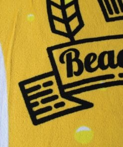 Beer Pint Beach Towel