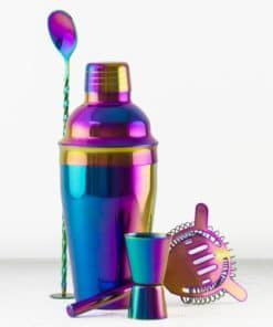 Iridescent Cocktail Set
