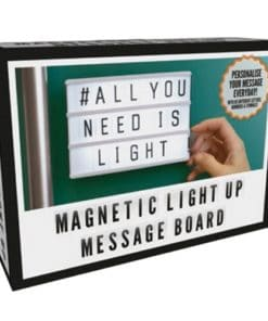 A6 Magnetic Light Up Message Board
