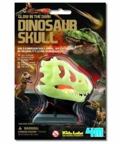 Glow in the Dark Dinosaur Skull (3308M)