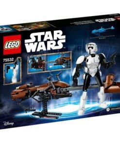 Lego Star Wars Scout Trooper & Speeder Bike (75532)
