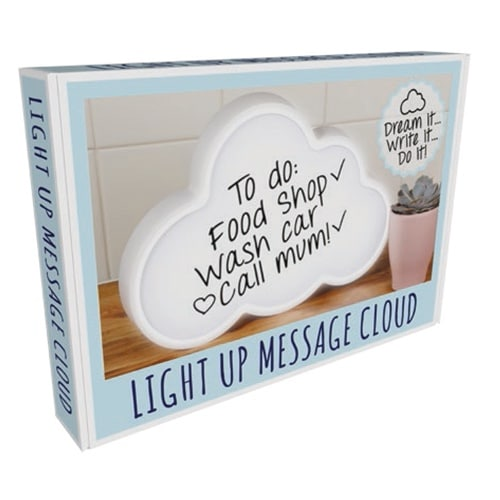 Light Up Cloud Speech Bubble