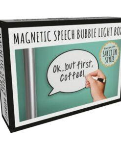 Magnetic Speech Bubble Light