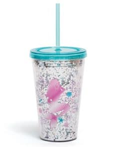 Mermaid Straw Cup