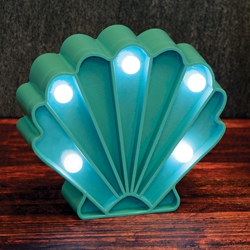 Mini Shell Marquee Light