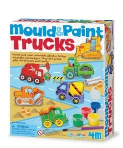 Mould and Paint Trucks Kit (3538)