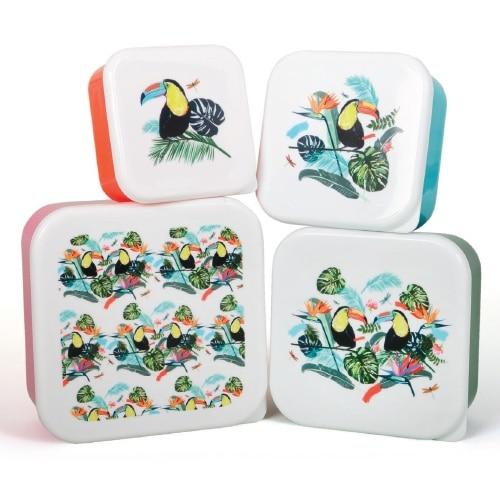 Tropical Lunch Box Set