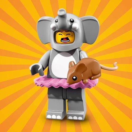 LEGO-Minifigures-Series-18-Elephant-Girl